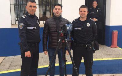 La Policía Local pondrá en marcha en breves fechas el radar móvil para controlar la velocidad