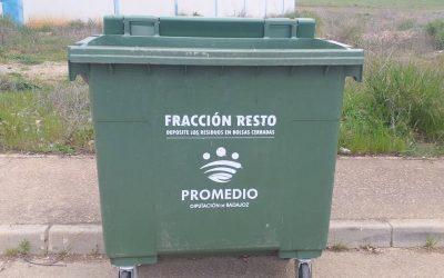 Promedio pide dejar las tapas de los contenedores verdes abiertas y seguir pautas para evitar contagios