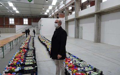 El Ayuntamiento de Zafra ha entregado 105 cestas de alimentos a familias necesitadas de la ciudad