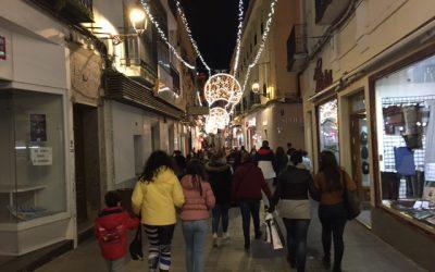 El Ayuntamiento valora de forma positiva la campaña comercial de Navidad y que las compras hayan sido locales