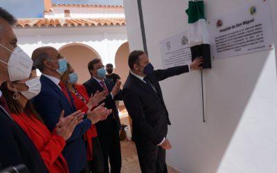 La nueva Biblioteca y Archivo Histórico de Zafra se ha inaugurado hoy con la presencia de José Luis Ábalos