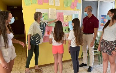 Un total de 36 niños de entre 5 y 12 años participan en los Espacios Educativos Saludables hasta el 3 de septiembre